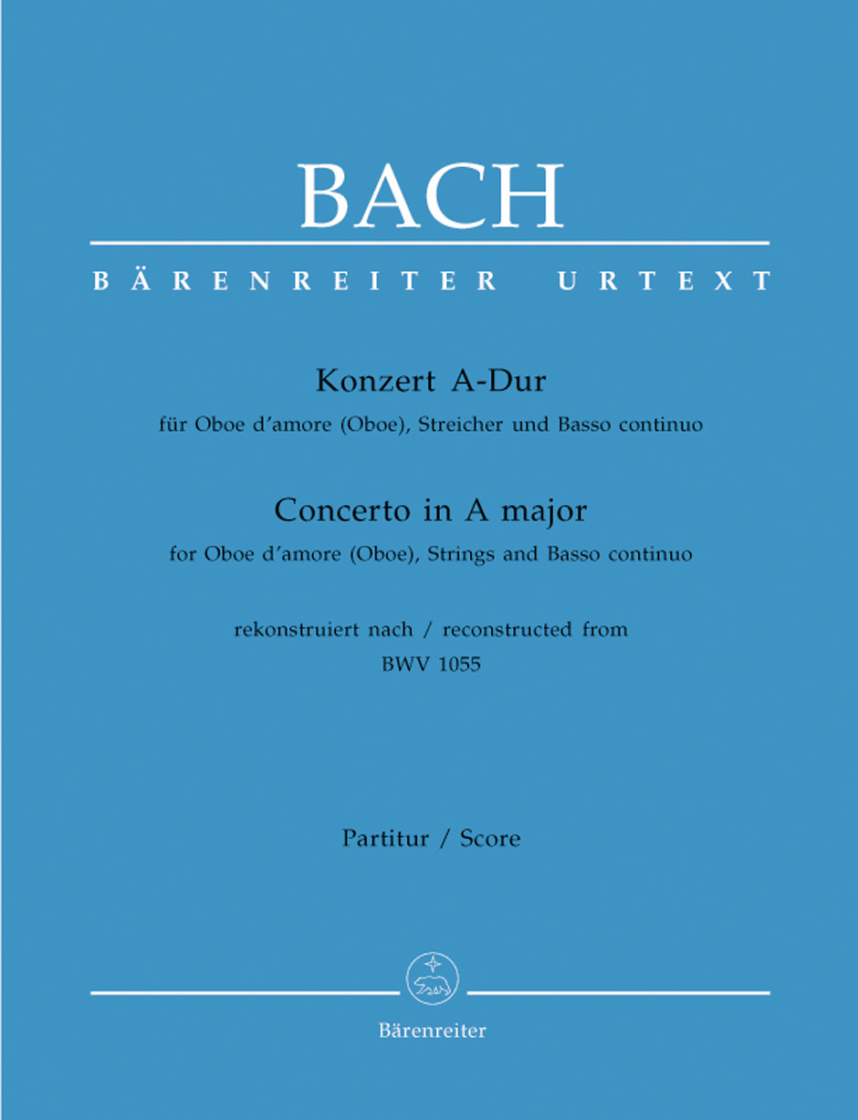 Concerto in A Major BWV1055-Score