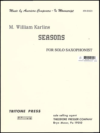 Seasons-Sax Solo