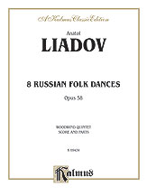 Eight Russian Folksongs-Woodwind Quintet