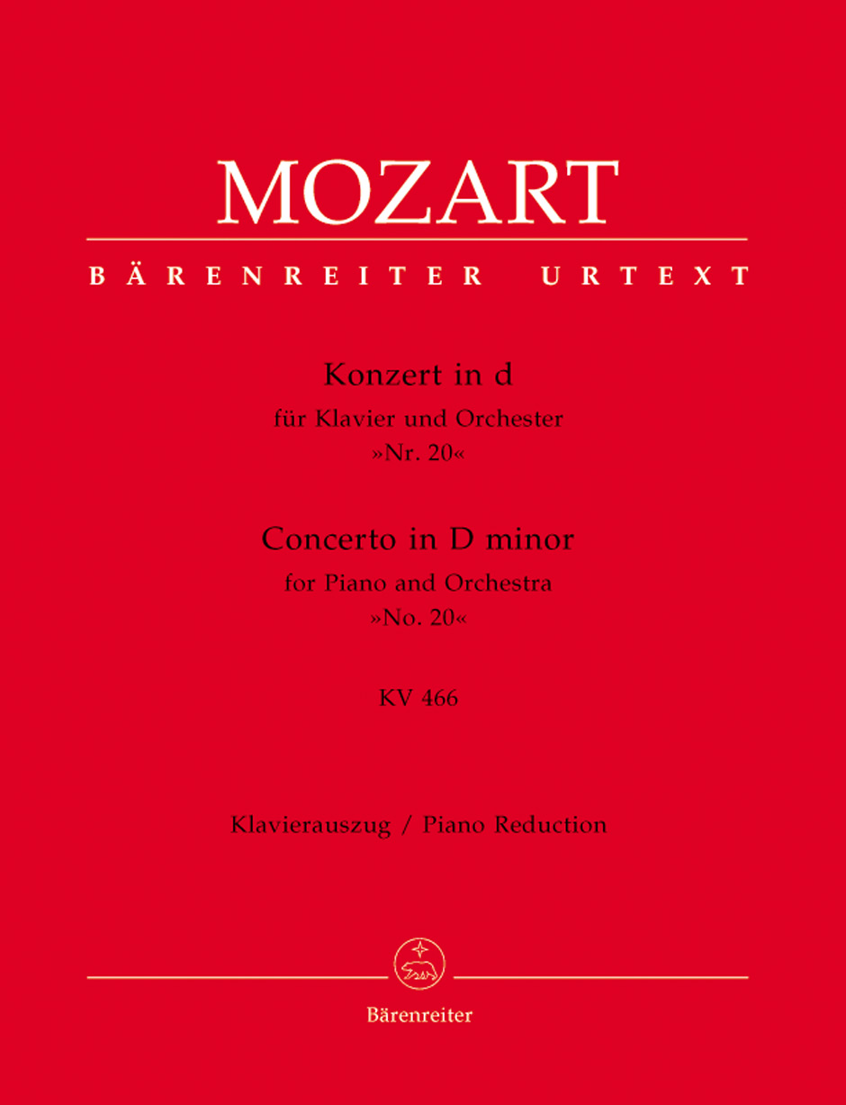 Concerto No. 20 in D Minor, K. 466