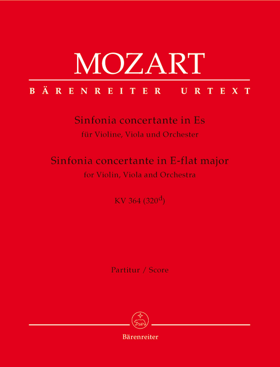Sinfonia Concertante in E Flat K. 364