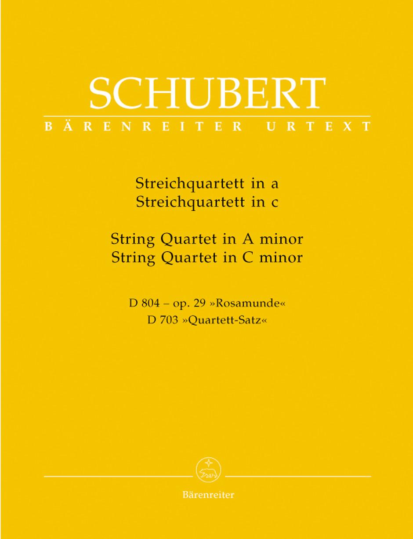 String Quartets in A Minor/C Minor