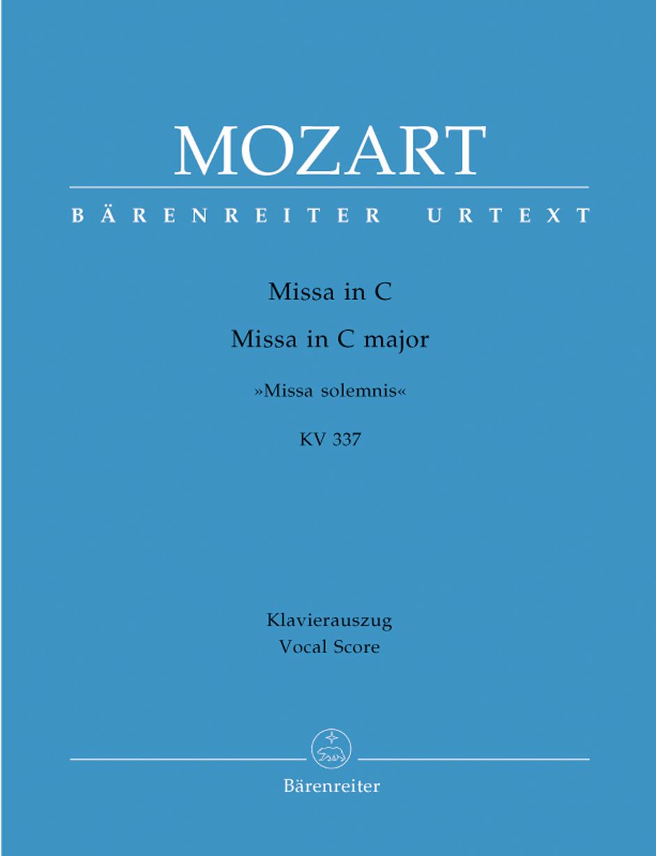Missa Solemnis in C K. 337