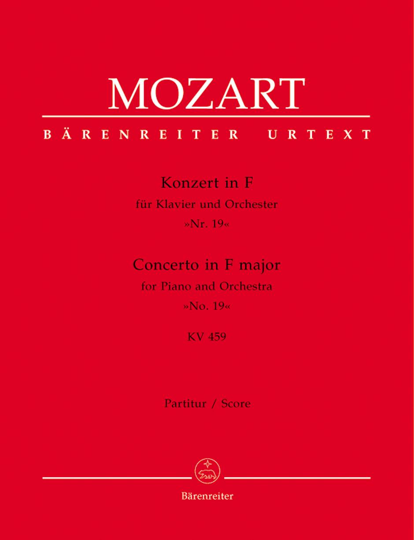 Piano Concerto No. 19 K. 459