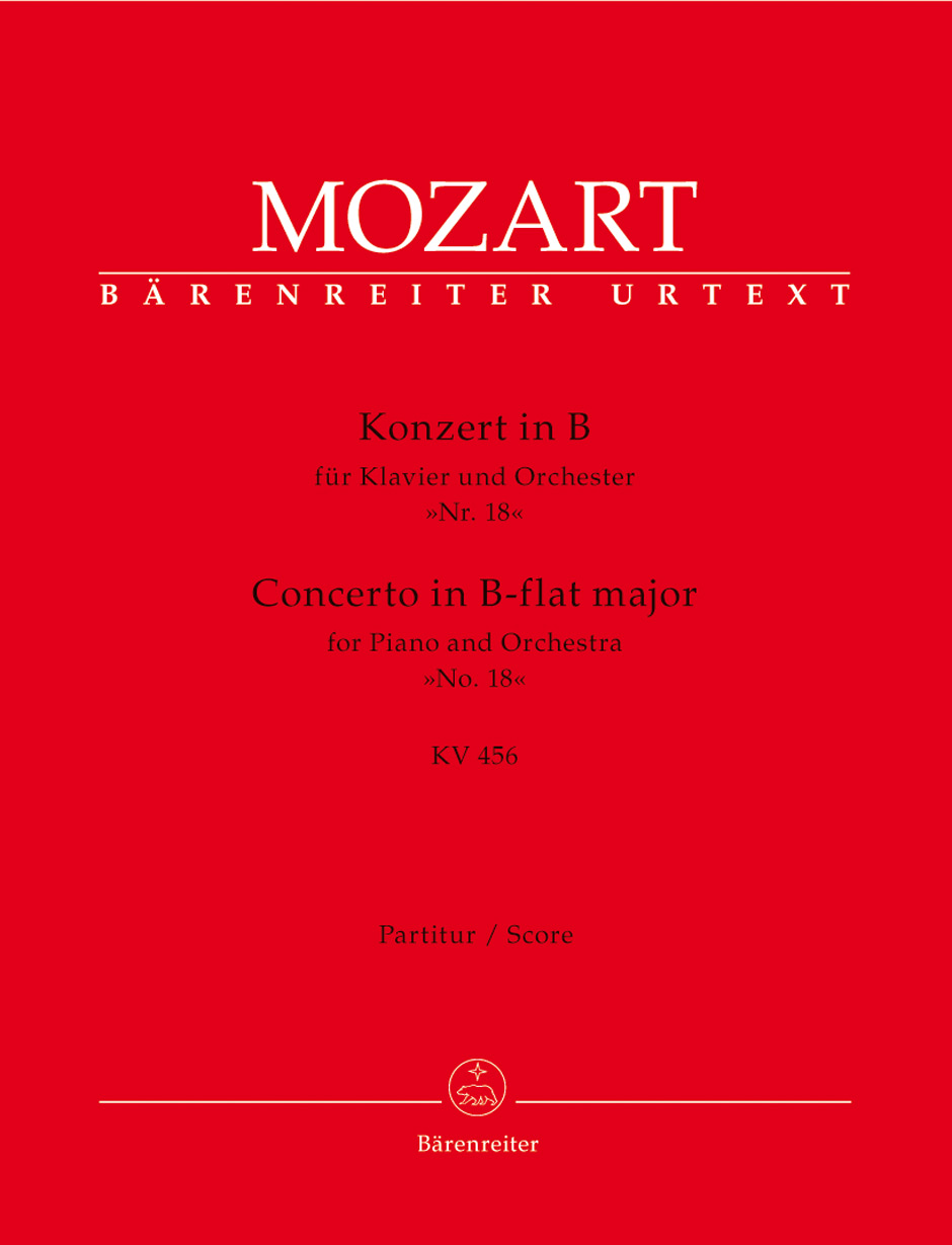 Piano Concerto No. 18 K. 456