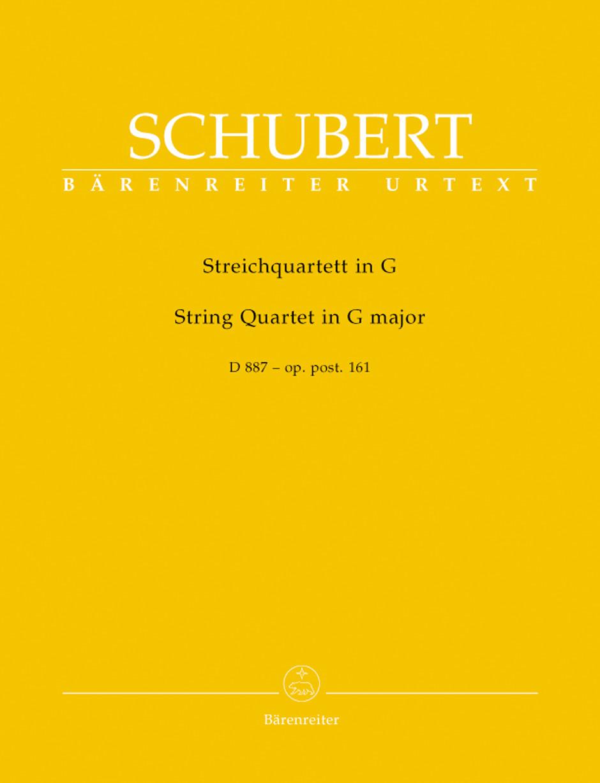 String Quartet G Maj D887 Post 161