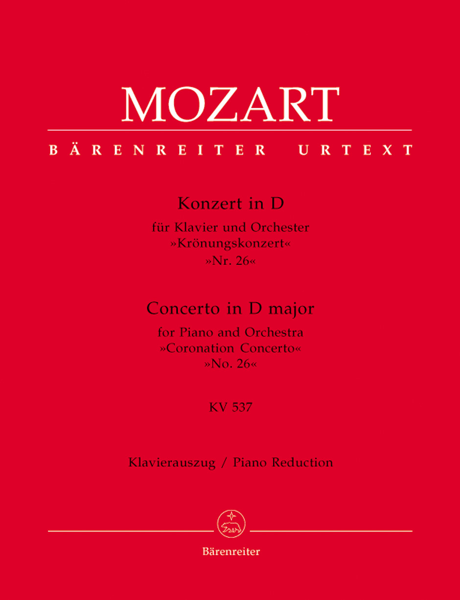 Concerto No. 26 in D Major, K. 537