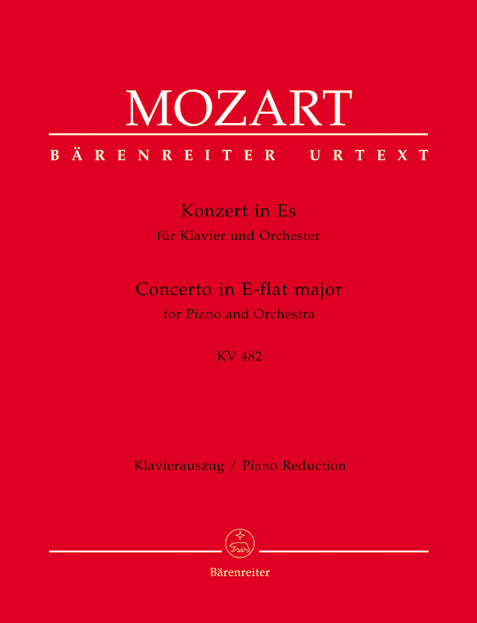 Piano Concerto No. 22 in E Flat, K. 482