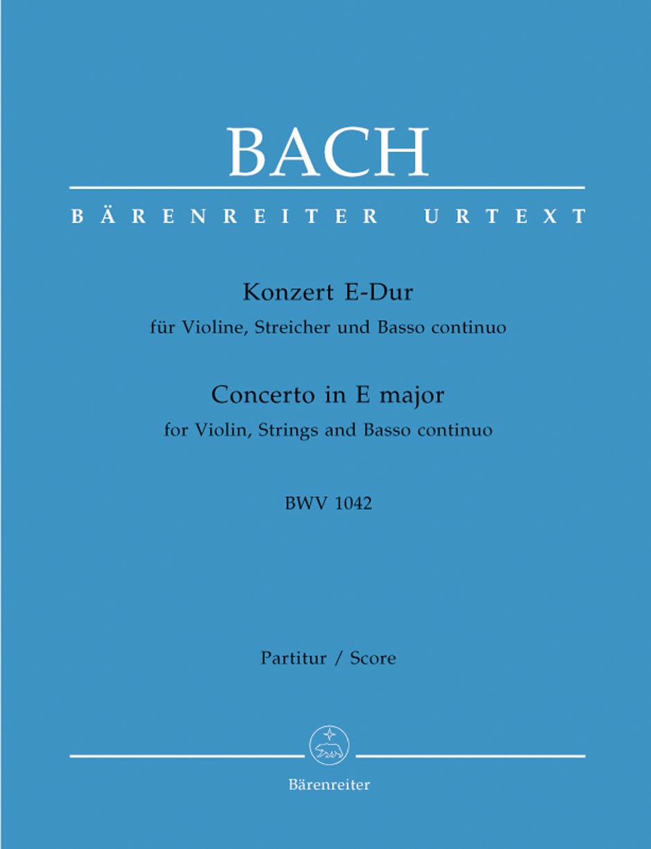 Violin Concerto in E BWV1042-Fs