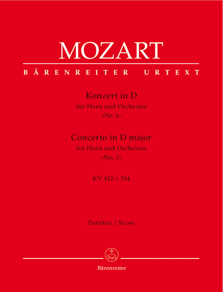 Horn Concerto No. 1 in D Major - Full Score