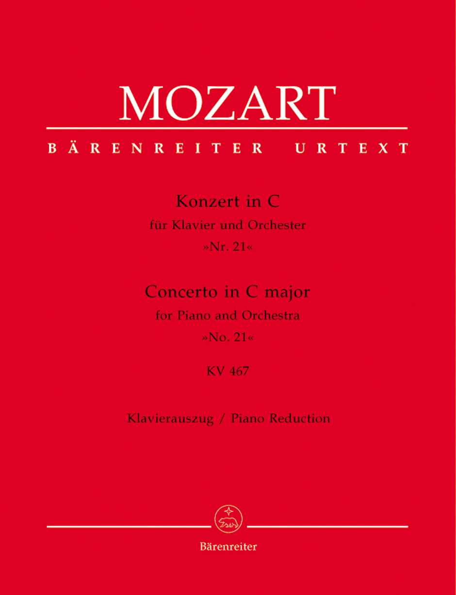 Concerto No. 21 in C Major, K. 467