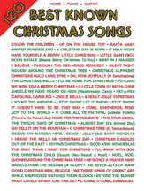 120 Best-Known Christmas Songs