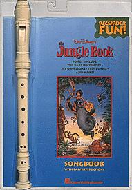 Jungle Book-Book with Recorder