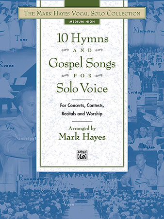 10 Hymns and Gospel Songs for Solo Voice (Medium | J W