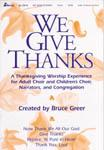 We Give Thanks-P.O.P.