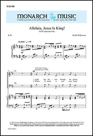 Alleluia Jesus Is King