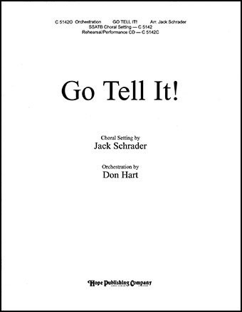 Go Tell It!                          Cover