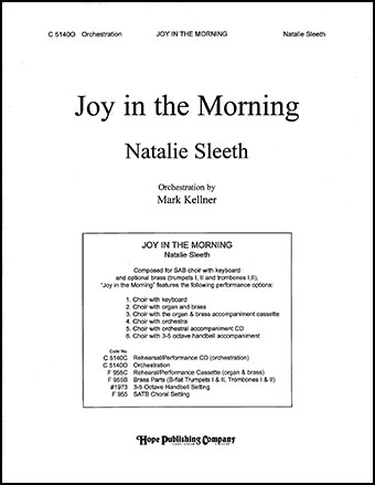 Joy in the Morning Cover