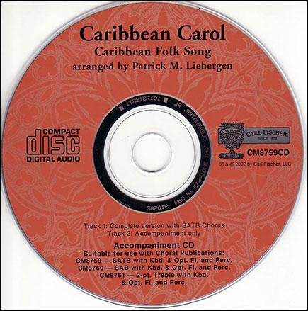 Caribbean Carol                     Cover