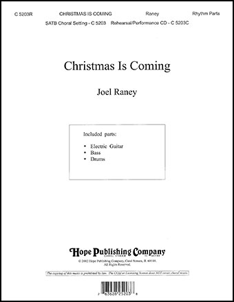 Christmas Is Coming Cover