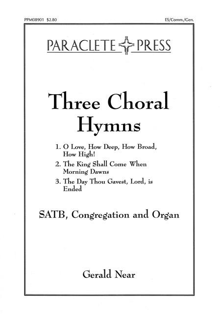Three Choral Hymns