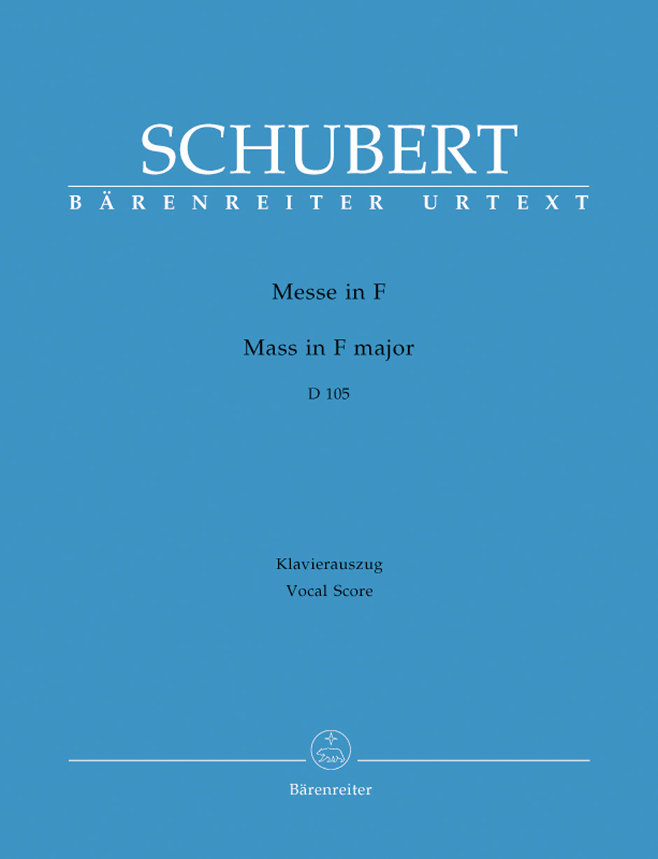 Mass in F Major-Vocal Score