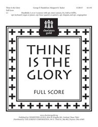 Thine Is the Glory-Full Score