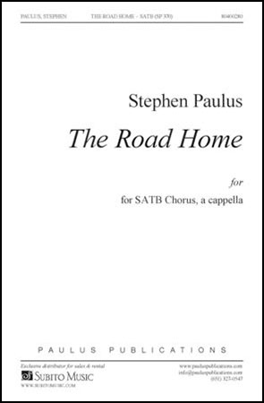 The Road Home choral sheet music cover