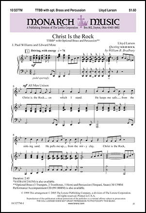 Christ Is the Rock                  Thumbnail