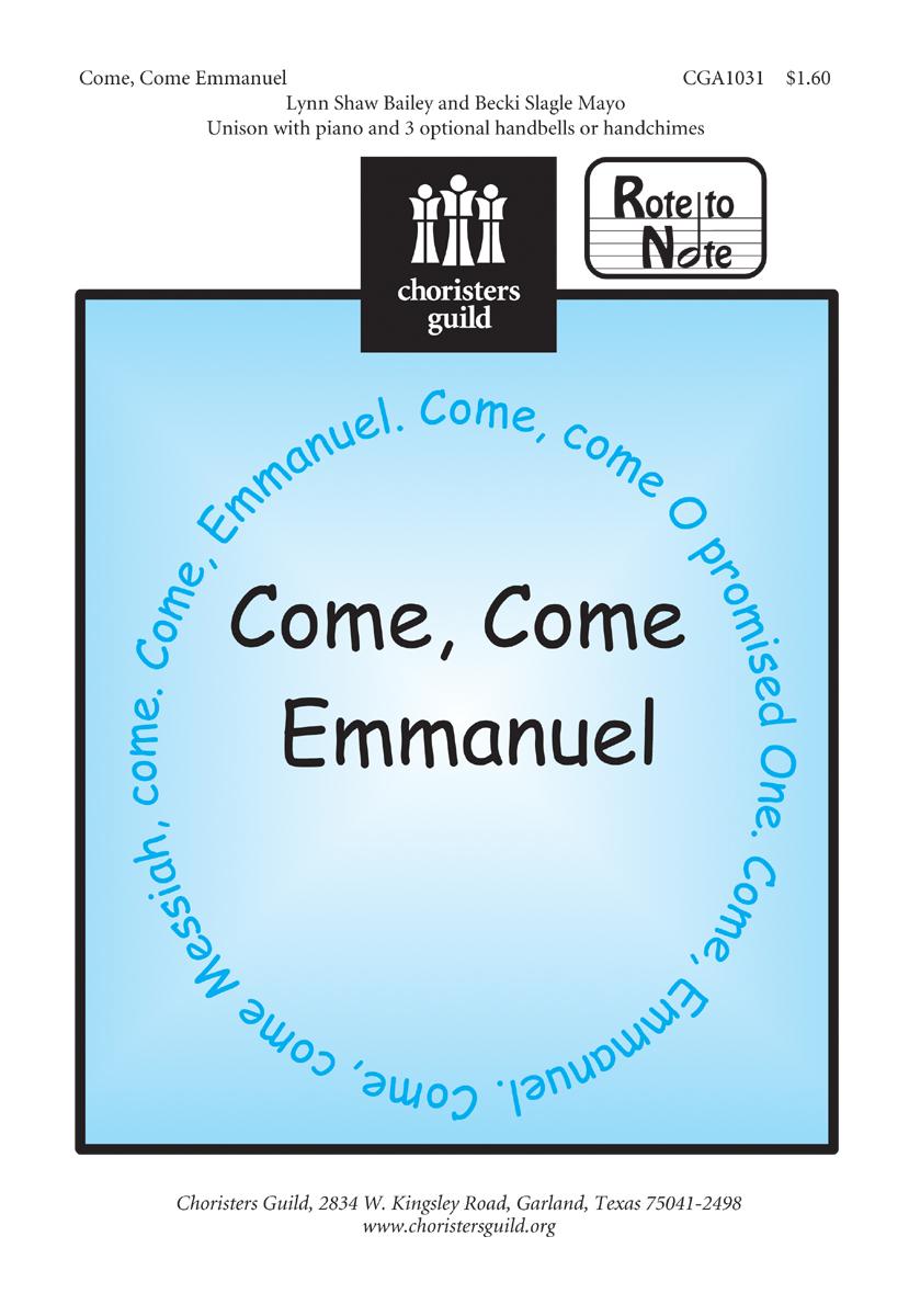Come, Come Emmanuel