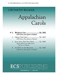 Appalacian Carols: 1. Wondrous Love