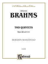 Two Quintets Op. 88 and 111-Strings