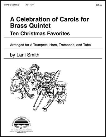 Celebration of Carols for Brass Quintet