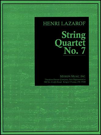 String Quartet No. 7-Score/Parts