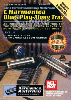 C Harmonica Blues Play Alo-Book/2 CDs