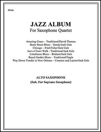 Jazz Album-Alto Sax (Sub Sop)