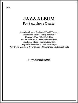 Jazz Album-Alto Sax