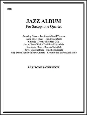 Jazz Album-Baritone Sax