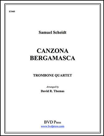 Canzona Bergamasca-Trombone Quartet