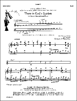 There in Gods Garden-Handbell