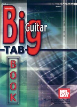 Big Guitar Tab Book