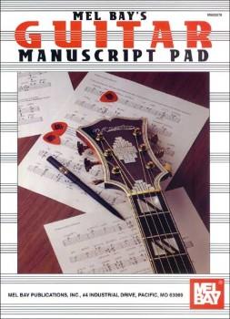 Guitar Manuscript Pad-8 Staves