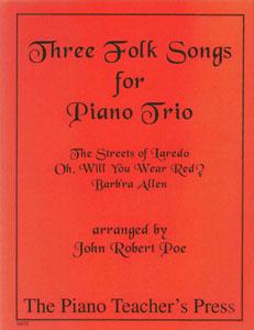 Three Folk Songs for Piano Trio