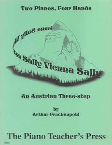 Vienna Sally-1 Pno 6 Hands