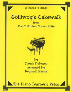 Golliwogs Cakewalk-2 Pno 4 Hands by DEBUSSY, C| J W  Pepper