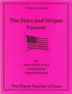 Stars and Stripes Forever-2 Pno 4ha