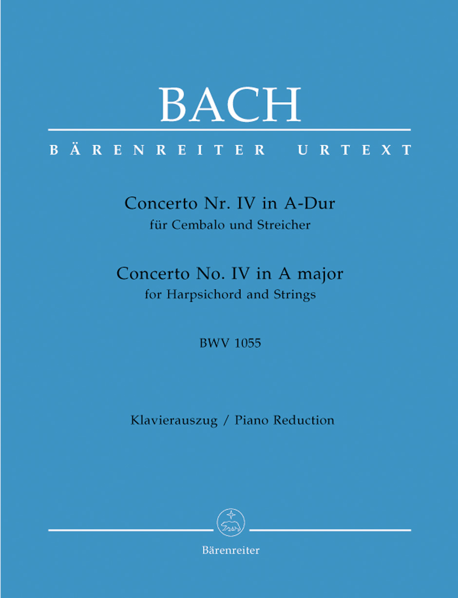 Concerto No. 4 in A Major, BWV1055