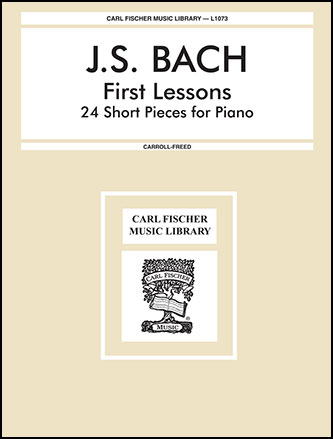 First Lessons-24 Short Pieces Piano