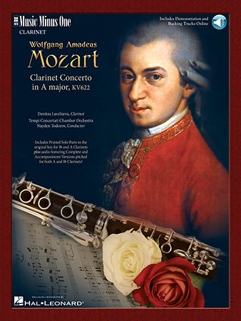 Clarinet Concerto in a Maj-Book and CD