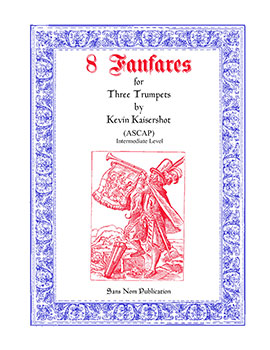 Eight Fanfares for Three Trumpet No. 2